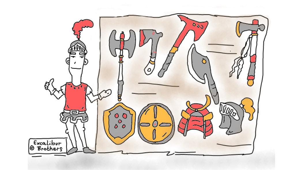 Axes and Armor